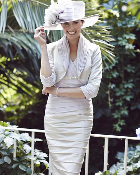 Dress and jacket by Ian Stuart, £1,190 from Snooty Frox