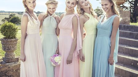 Choose from a selection of bridesmaid's dresses by Kelsey Rose, prices from £170 at Celebrations of