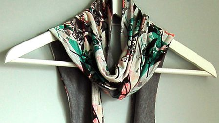 Catherines scarves are available from Millennium Galleries in Sheffield