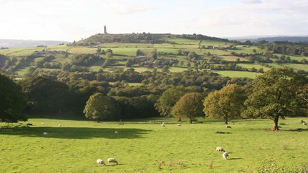 Castle Hill where Bronze Age warriors dug defensive ramparts Photograph by Terry Fletcher