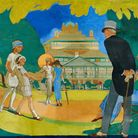 Lilian Hocknells glorious painting of The Royal Hall Gardens