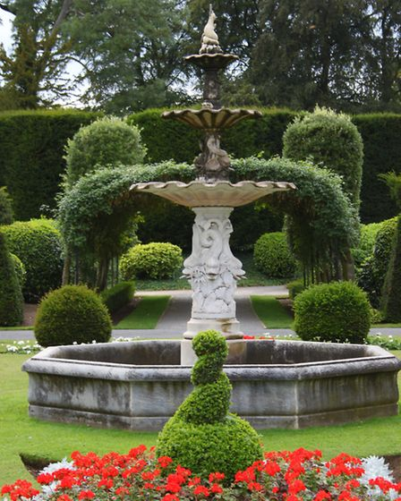 Ornamental gardens at Brodsworth Hall represent the heyday of vast landscaping and formal layout.