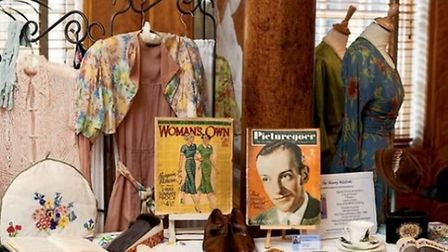 Memorabilia from the 1930's and 1950's