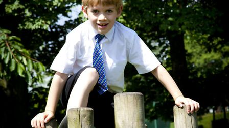 Student at Fulneck School