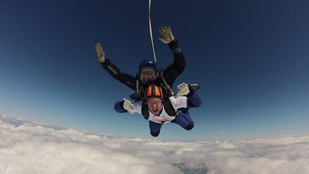 High flying Total Foodservice Solutions managing director Simon Howarth