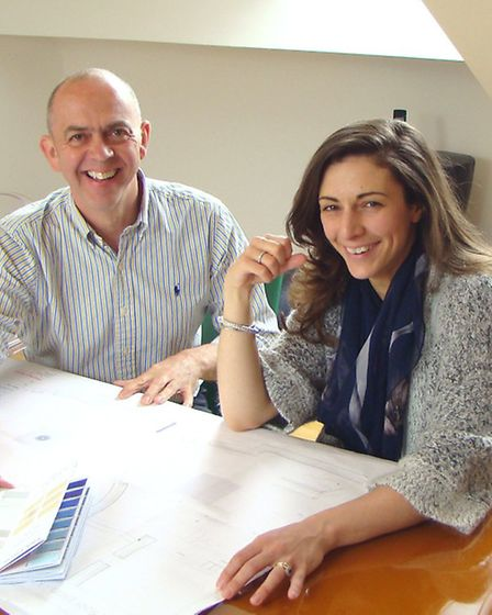 Stephen Gee, one of the founding partners of the Stephen Neall Group, and Sarah Woods, Design Direct