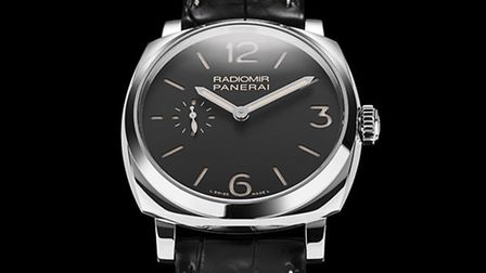 A vintage-inspired Panerai Radiomir 1940 combines comfortable size with refined elegance
