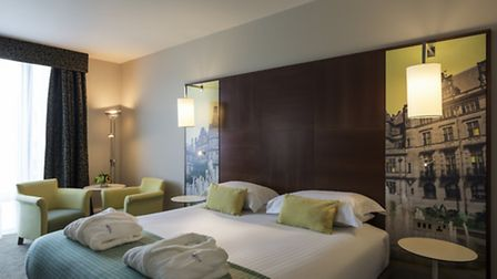 The 154 rooms are unfussy but suffused with style