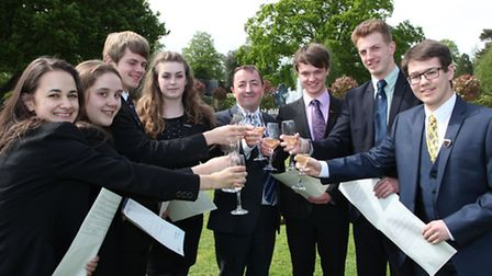 Queen Ethelburga's Students Celebrate A Level Results