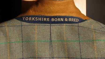 Yorkshire born and bred is discreetly inscribed under the collar