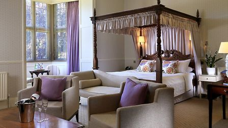 The Fountain Suite reflects the comfortable elegance of the bedrooms at Gisborough Hall