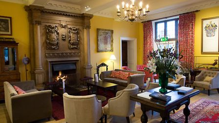 The inner hall offers peace and tranquillity – and a roaring fire on chillier days