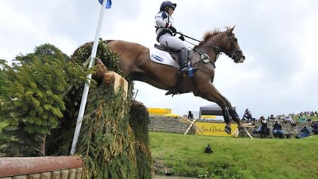 Holly Woodhead rides Dhi Lupison winners of the CCI*** Under 25 last year Photo Kit Houghton