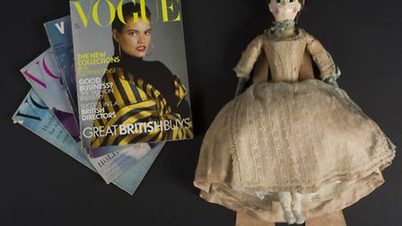 Vogue-less 18th century rich ladies learned about the latest styles with the help of a fashion doll