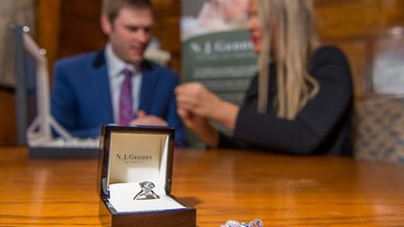 The journey to the perfect stone begins with an in-depth consultation wherever the client feels most