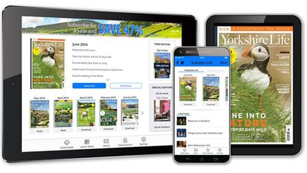 Welcome to the brand new Yorkshire Life app!