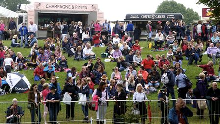 The Bramham competitions attracted good crowds