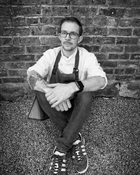 Murray Wilson, head chef at Horto, Rudding Park's new pop-up restaurant