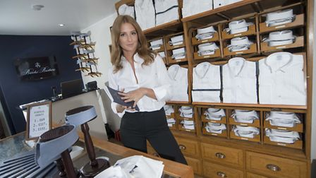 Millie Mackintosh launches The White Shirt bar, a pop-up store hosted in a refurbished six-wheeler A