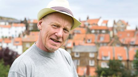Steve Huison has lived for the last couple of years in Robin Hood's Bay with his wife, Terrie, a the