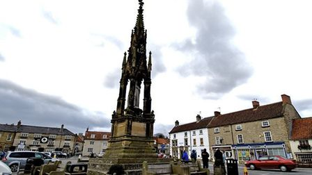 Helmsley Market Square by Joan Russell