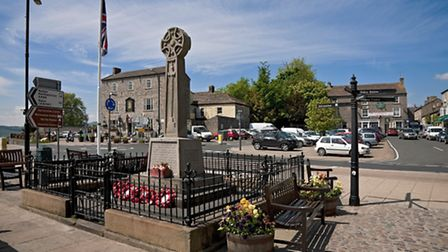 Market Place Leyburn, which for over a thousand years has been a prosperous place