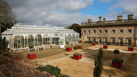 Wentworth Castle's newly restored Victorian conservatory