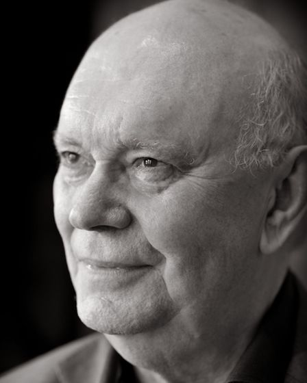 Sir Alan Ayckbourn, pictured at the Stephen Joseph Theatre, Scarborough. Portrait by Andrew Higgins