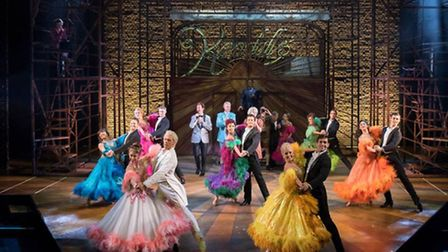 The Company of Strictly Ballroom The Musical. Photography by Alastair Muir.