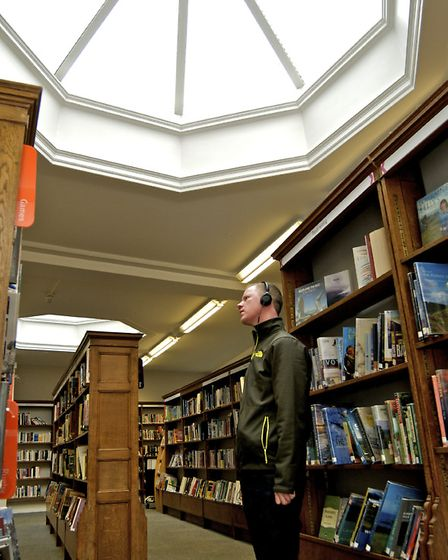 York Explore - the former central library in the city