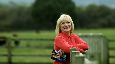 Susan Stephens, renowned Mills and Boon writer at her home in Hartshead, West Yorkshire