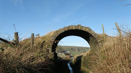 Irwell Valley path, Bacup