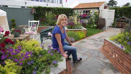 Garden designer Tracy Foster has taken her inspiration from the wildness of Flamborough and the dra