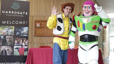 Characters at the Harrogate Film Festival