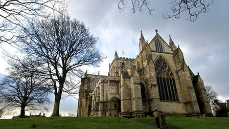 Many stay and linger in Ripon and an obvious place to start a visit is the magnificent minster