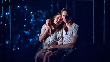 Tessa Parr as Juliet and Dan Parr as Romeo. Photography by Anthony Robling
