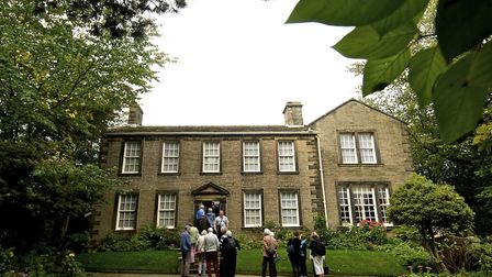 Pic Joan Russell Town feature on Haworth. Bronte Parsonage.