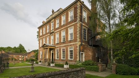 Exterior of the elegant Middlethorpe Hall and Spa