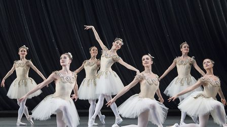 'Jewels' performed by the Royal Ballet at the Royal Opera House Photo by Alastair Muir/REX/Shutterst