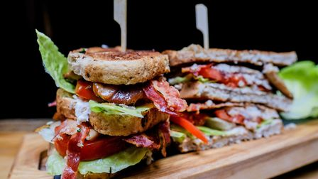 Kippers club sandwich style