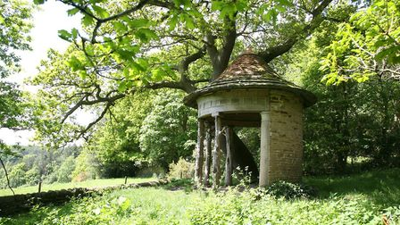 The grant means beautiful details like this summerhouse will get the TLC they deserve