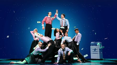 The production of The Wedding Singer is at the Lyceum, Sheffield