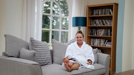 Relaxing in the Orangery at the Wellness Tree Retreat