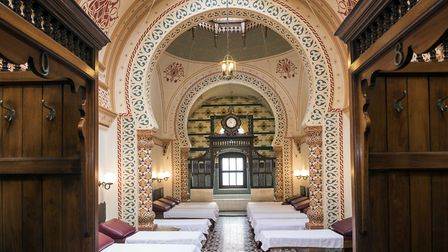 It might look like Istanbul, but this Turkish temple to relaxation is actually at the heart of Harro