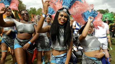 Carnival group Pure Elegance get into their stride