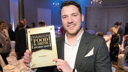Yorkshire Life Chef of the Year Tommy Banks
