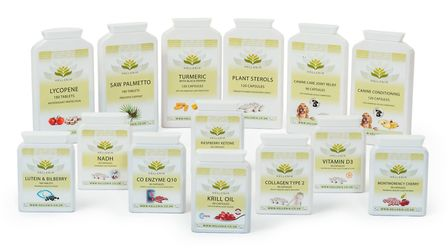 A selection of Hellenia products