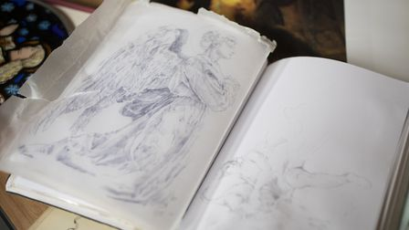 Sketches for the Christmas celebrations