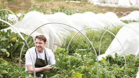 Inspired by his grandfathers veg patch, Tommy grows as much of his own produce as he can