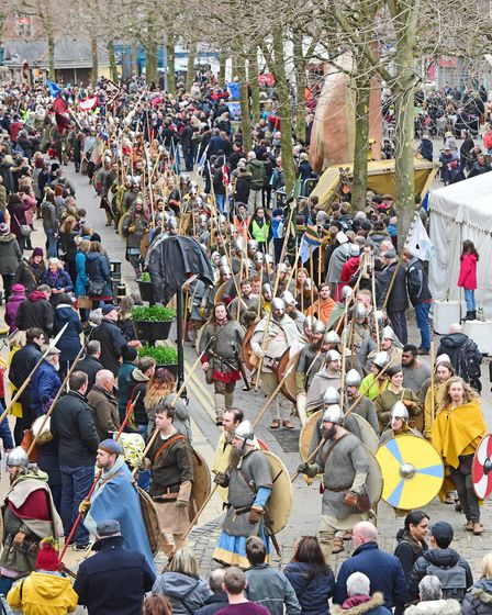 Conquering Vikings arrive Photo Anthony Chappel-Ross